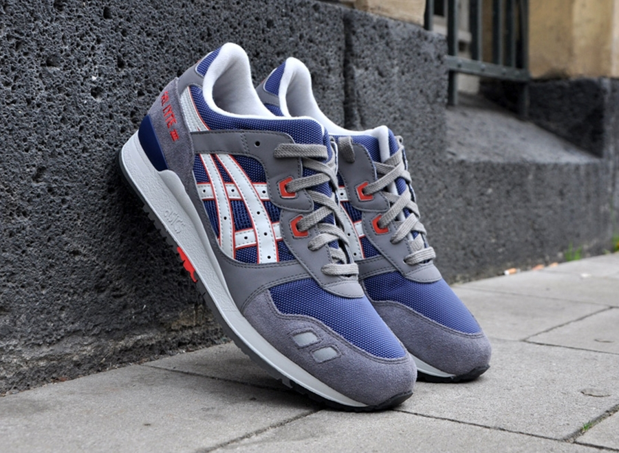 more photos da5e7 5c15c Coming Soon: Asics Gel Lyte III – Navy – Grey – White | 8&9 ...