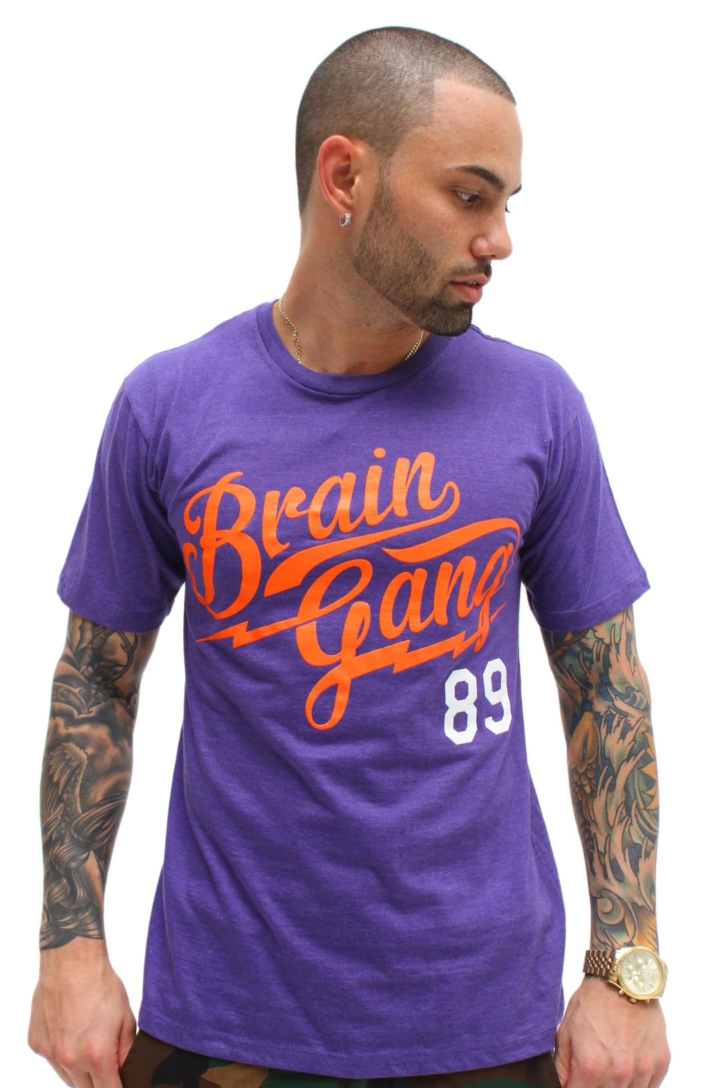 brain gang purple