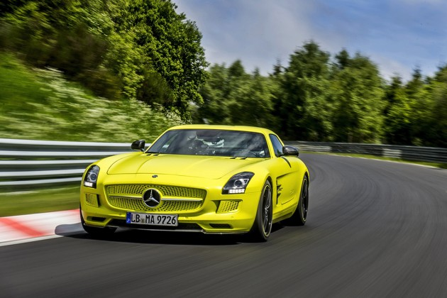 mercedes-benz-sls-amg-electric-drive-breaks-nurburgring-ev-lap-record-01-630x420