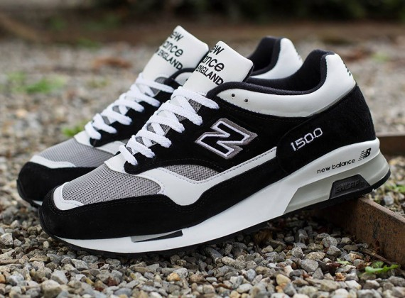 In Stores Now: Made In Egland- New Balance 1500 Black/ White ...