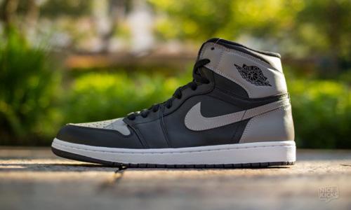 "Kicks - Air Jordan Retro 1 High ""Shadow Grey"""