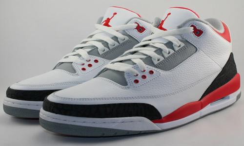 "Kicks - Air Jordan Retro 3 ""Fire Red"""