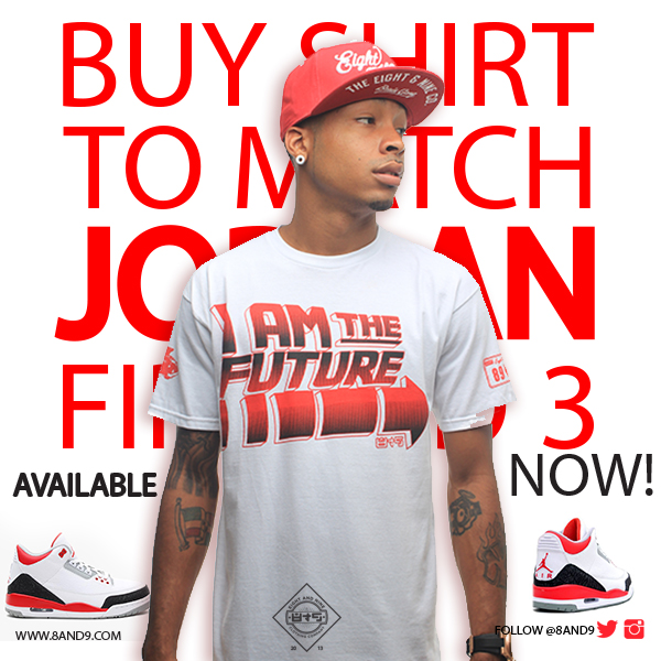 shirt to match jordan fire red 3