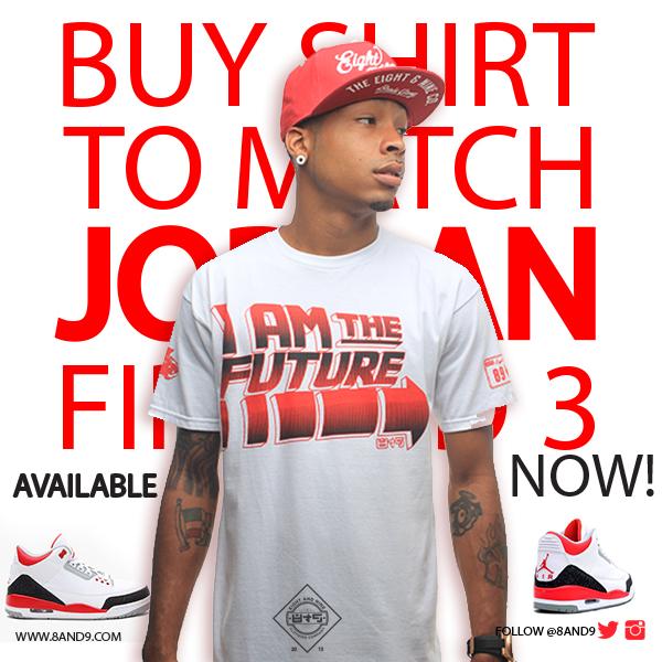 shirt to match jordan fire red 3