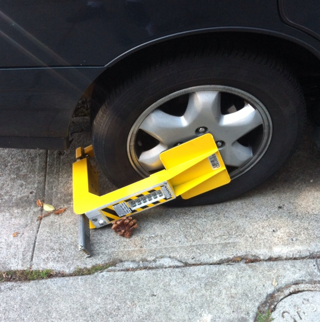 Booted-car