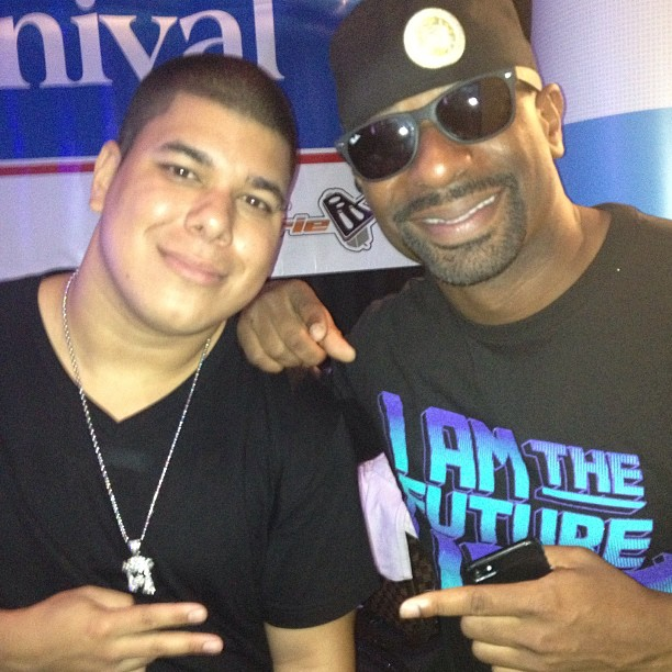 Miami Heat DJ Irie