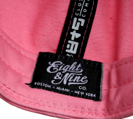 8and9 Flamingo Pink Brain Snapback