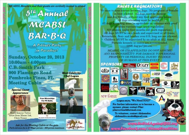 5th Annual MCABSL BBQ