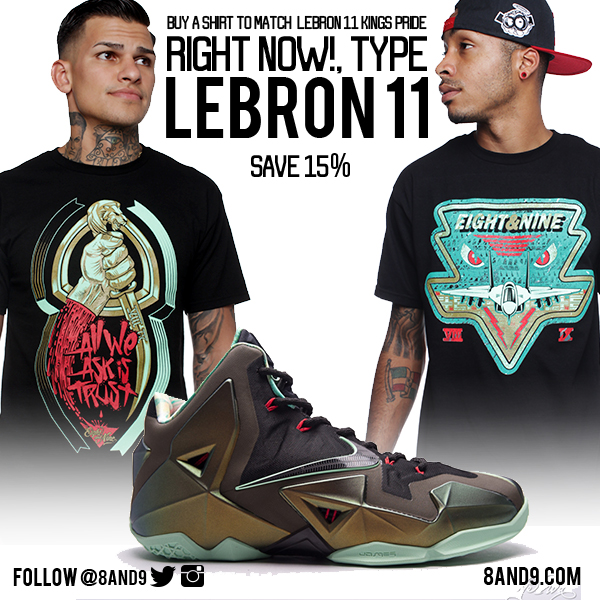 2ba6bbb23fbc shirts that match your lebrons | 8&9 Clothing Co.