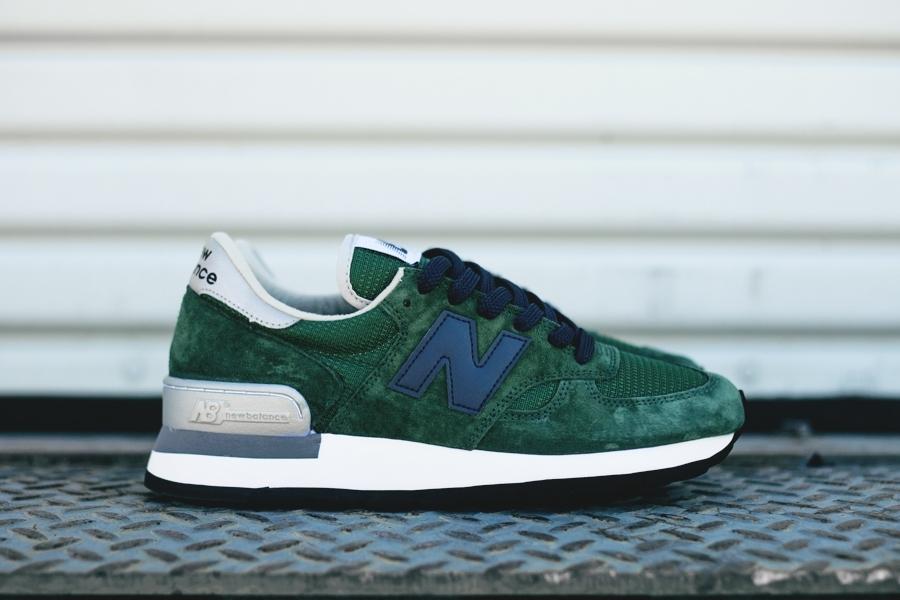 New Balance 990: Forest Green Joggesko og sko i 2019  8&9