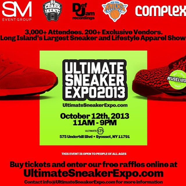 ultimate sneaker expo Li USELI2013ultimate sneaker expo Li USELI2013