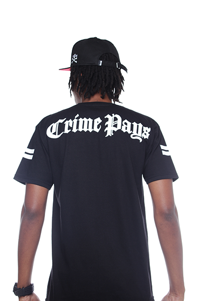crime pays t shirt