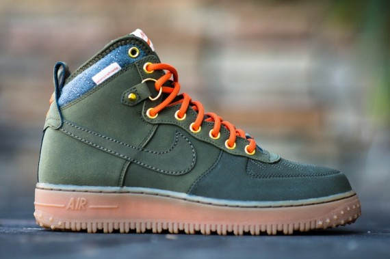 new product 38dda f4bc4 ... in stores now nike air force 1 duckboot dark loden ...