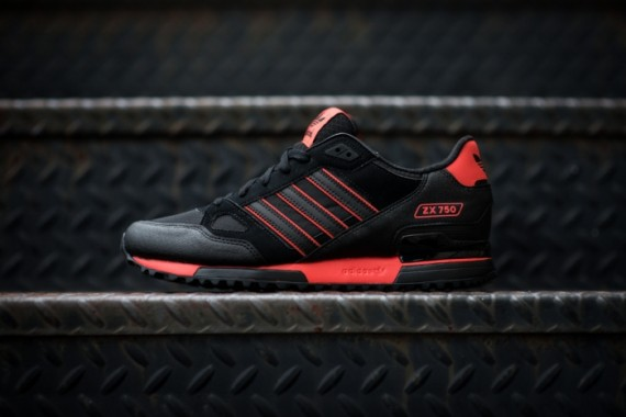 adidas originals zx 750 black orange
