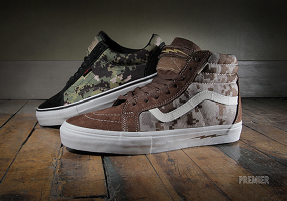 "27187781aa In Stores Now  DEFCON x Vans Syndicate ""Digi Camo Pack"""