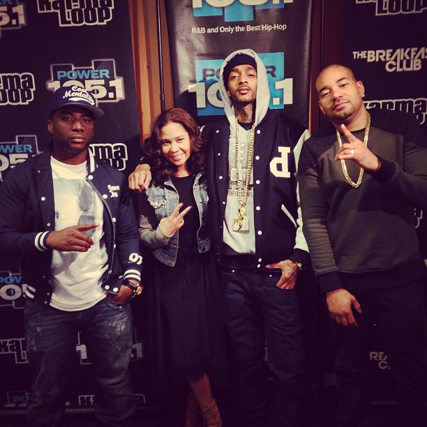 Nipsey Hussle Interview With The Breakfast Club