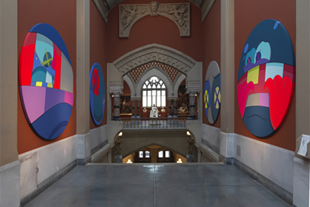 kaws-exhibition-at-pafa-1