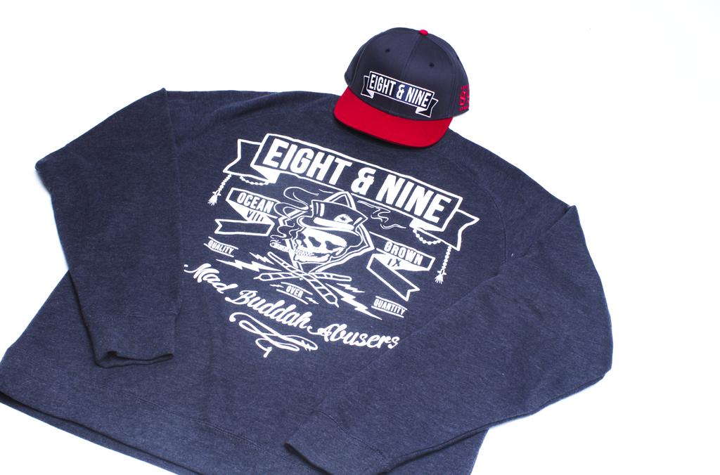 Ocean Grown Sweatshirt + Hat Combo