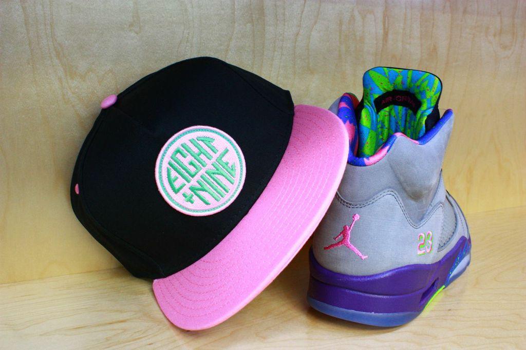 Winner's Circle Black-Pink Strapback Hat