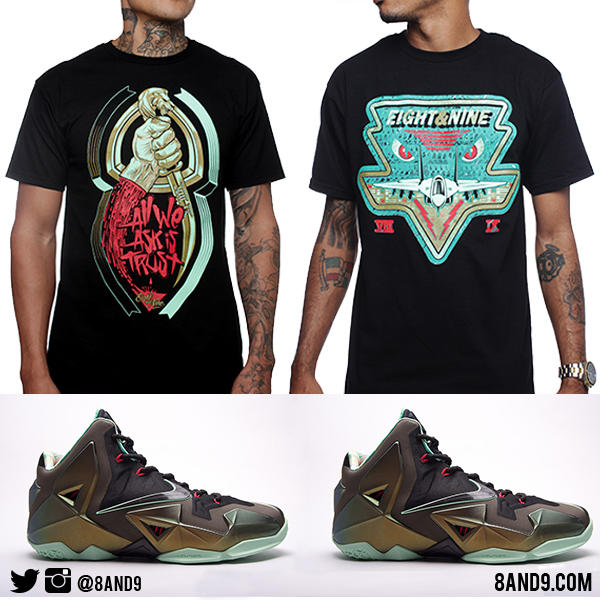 Lebron 11 Kings Pride shirts