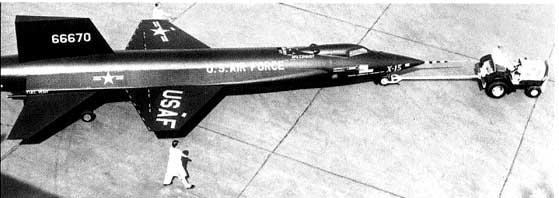 X- 15 Rocket Plane