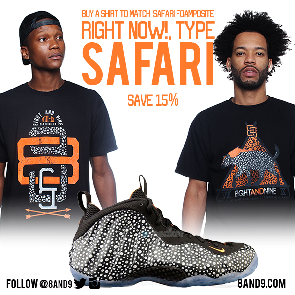 Safari Foamposite Shirt