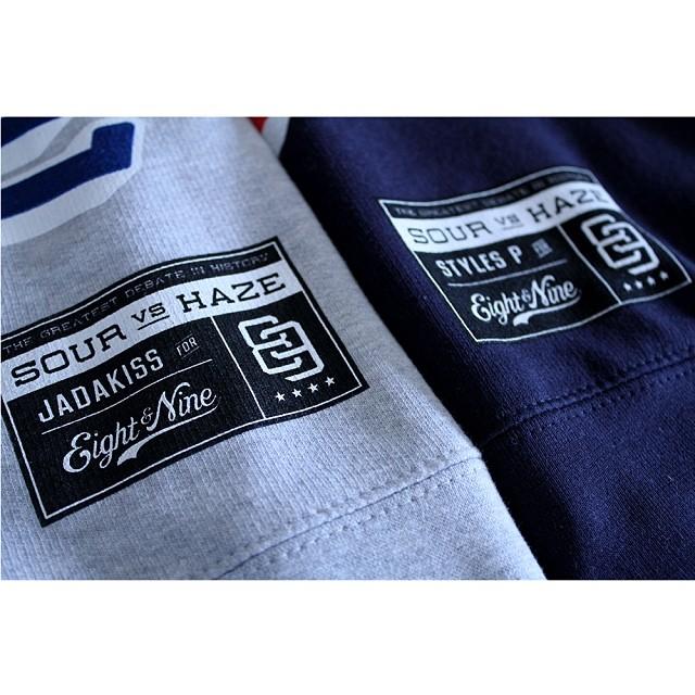 "Styles P x Jadakiss ""Sour vs Haze"" Crewneck Fleece By 8&9 Clothing"