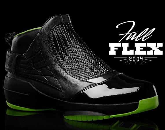 jordan 19 black/green