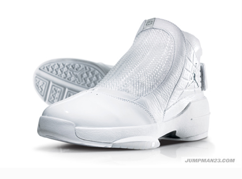 jordan 19 white/silver 25th anniversary
