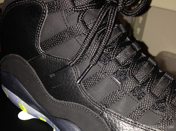 "First look – Air Jordan 10 ""Venom Green""  Releasing March 22nd ... 5b6dd1401e3a"