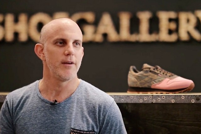 "Danny Waserstein of Shoe Gallery Discusses the""Flamingoes at War"" Reebok Classic Leather"