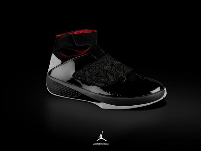 jordan 20 black/red
