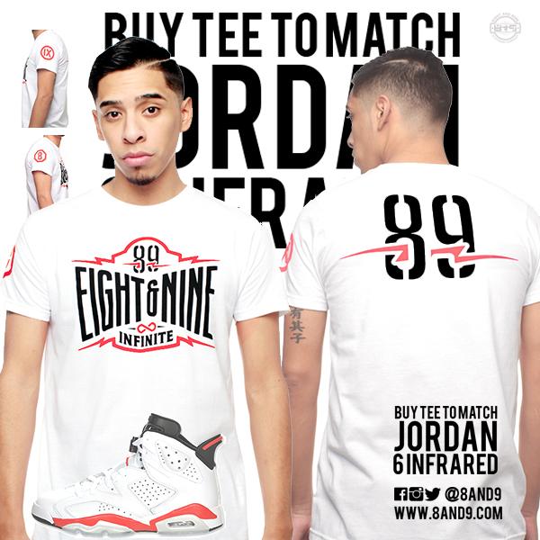 jordan 6 infrared shirt
