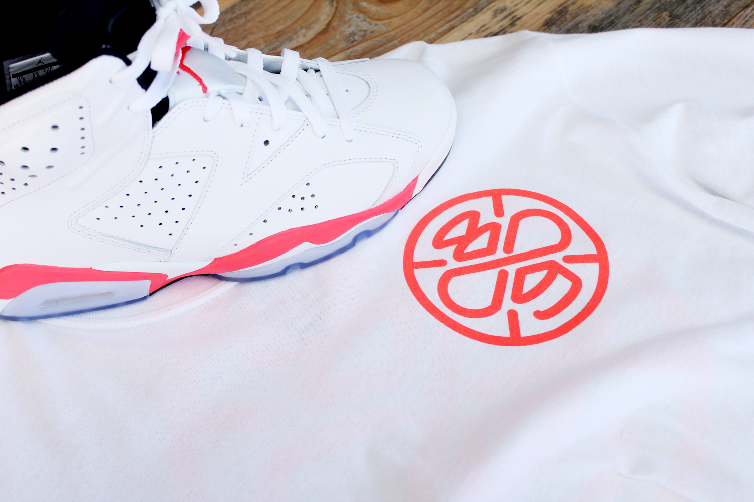 shirt to match jordan 6 infrared 2