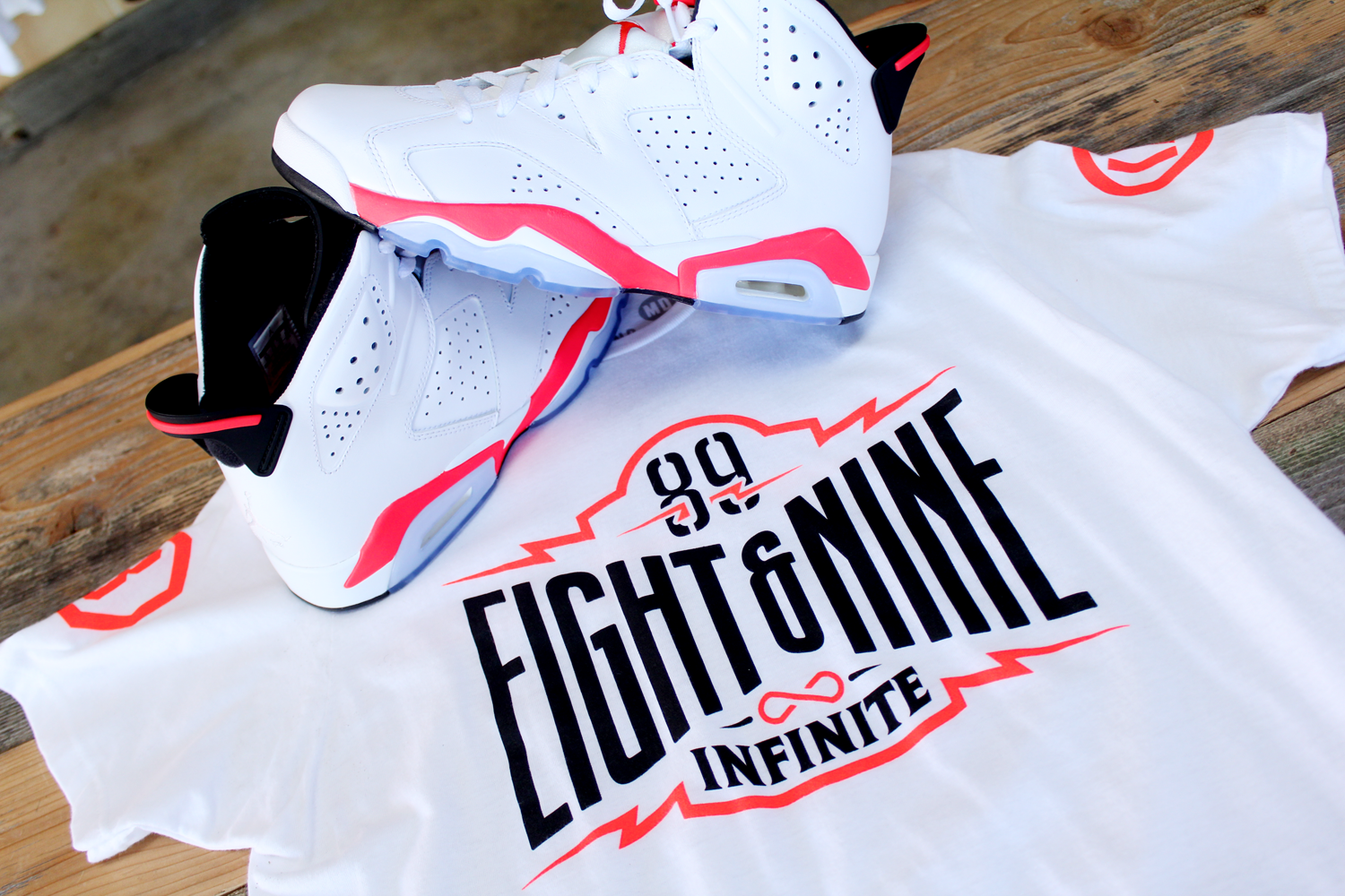 7adea0a948b85d Shirts to match Jordan 6 Infrared 2019 Release