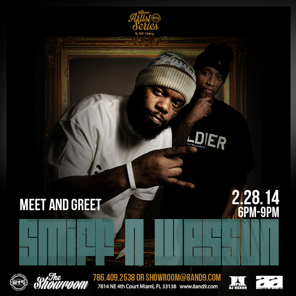 8&9 Clothing Presents The Artist Series W/ Smiff n Wessun and N.O.R.E Meet x Greet