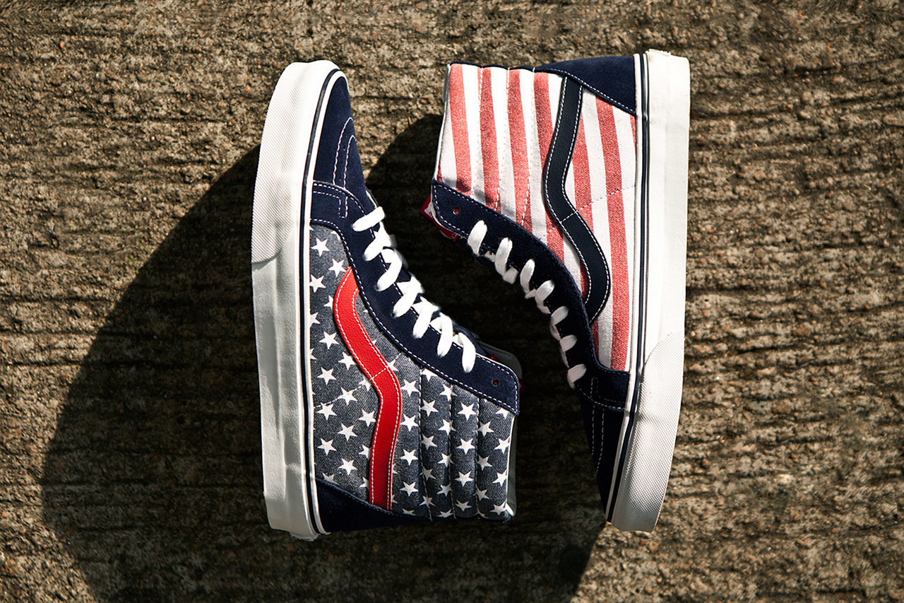 "8202a0aca5f2da March Release  Vans Classics Sk8-Hi Reissue ""Stars   Stripes"""