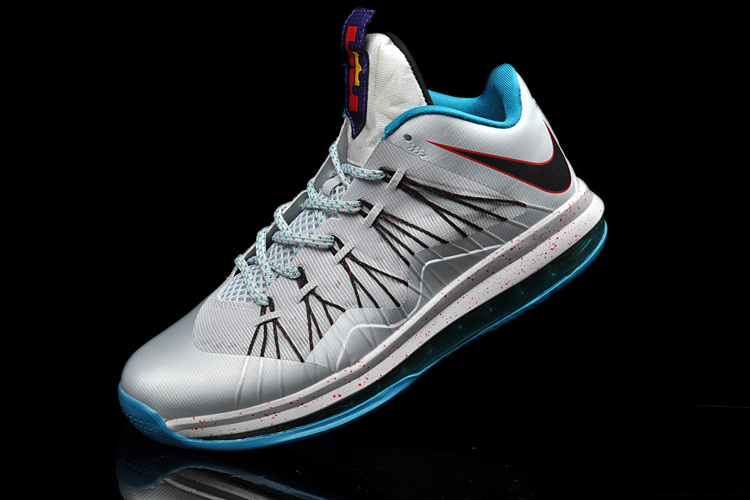 769-Nike Lebron X Low Summit Lake Hornets1