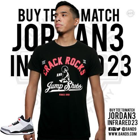 jordan 3 infrared 23 shirt 2