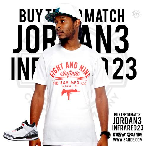 jordan 3 infrared 23 shirt 4