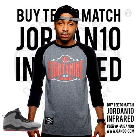 shirt to match jordan infrared 10