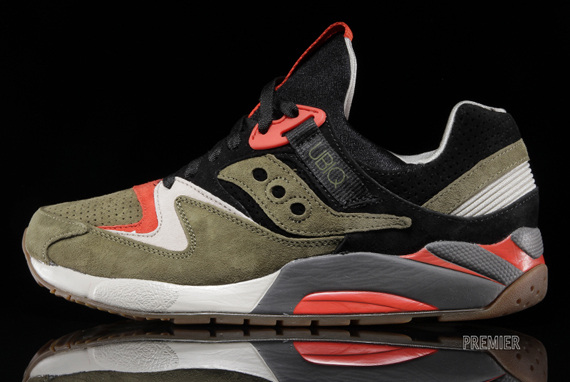 "Now Arriving at Retailers  UBIQ x Saucony Grid 9000 ""Dirty Martini ... 121b7583b"