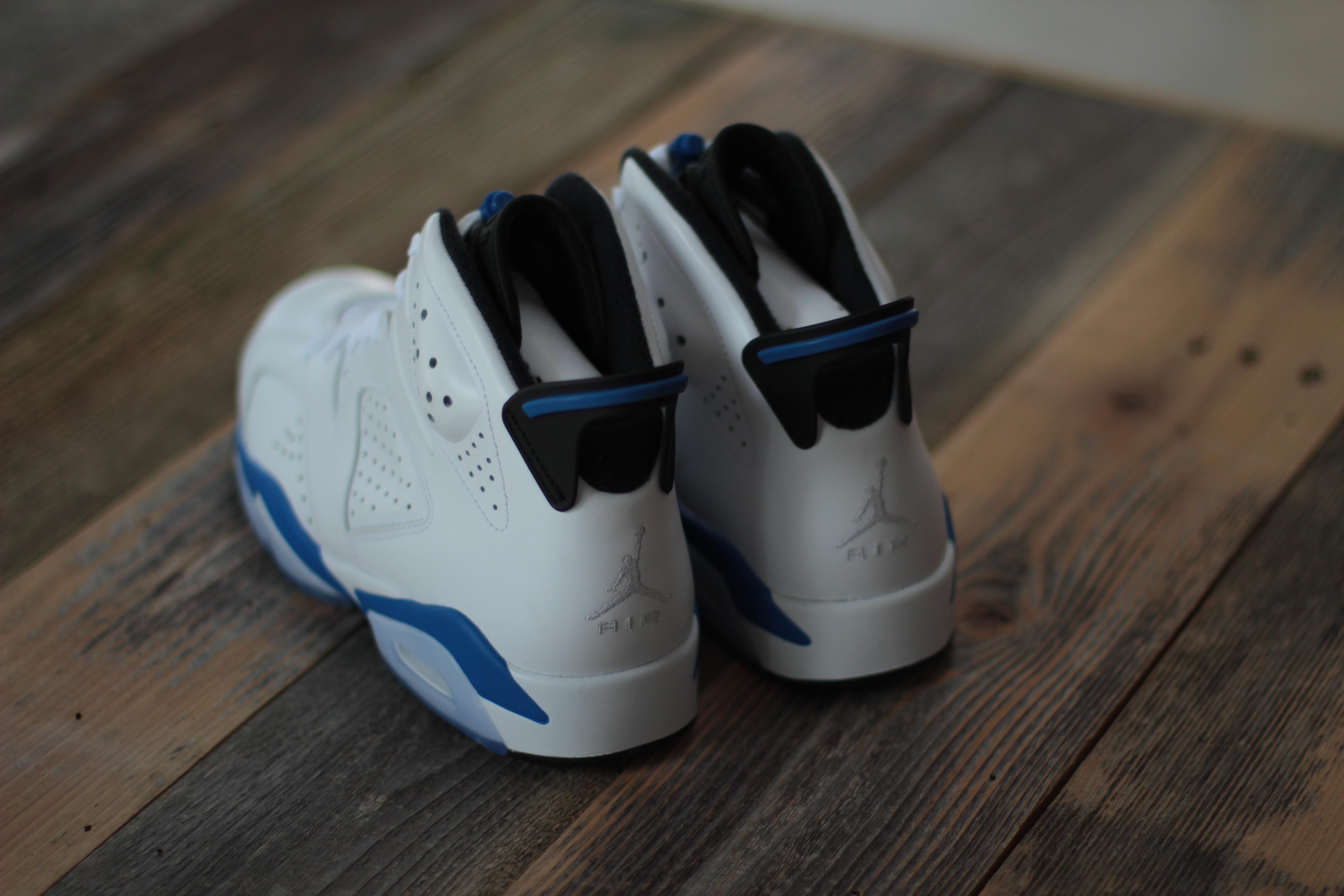 Sport Blue Jordan 6 2