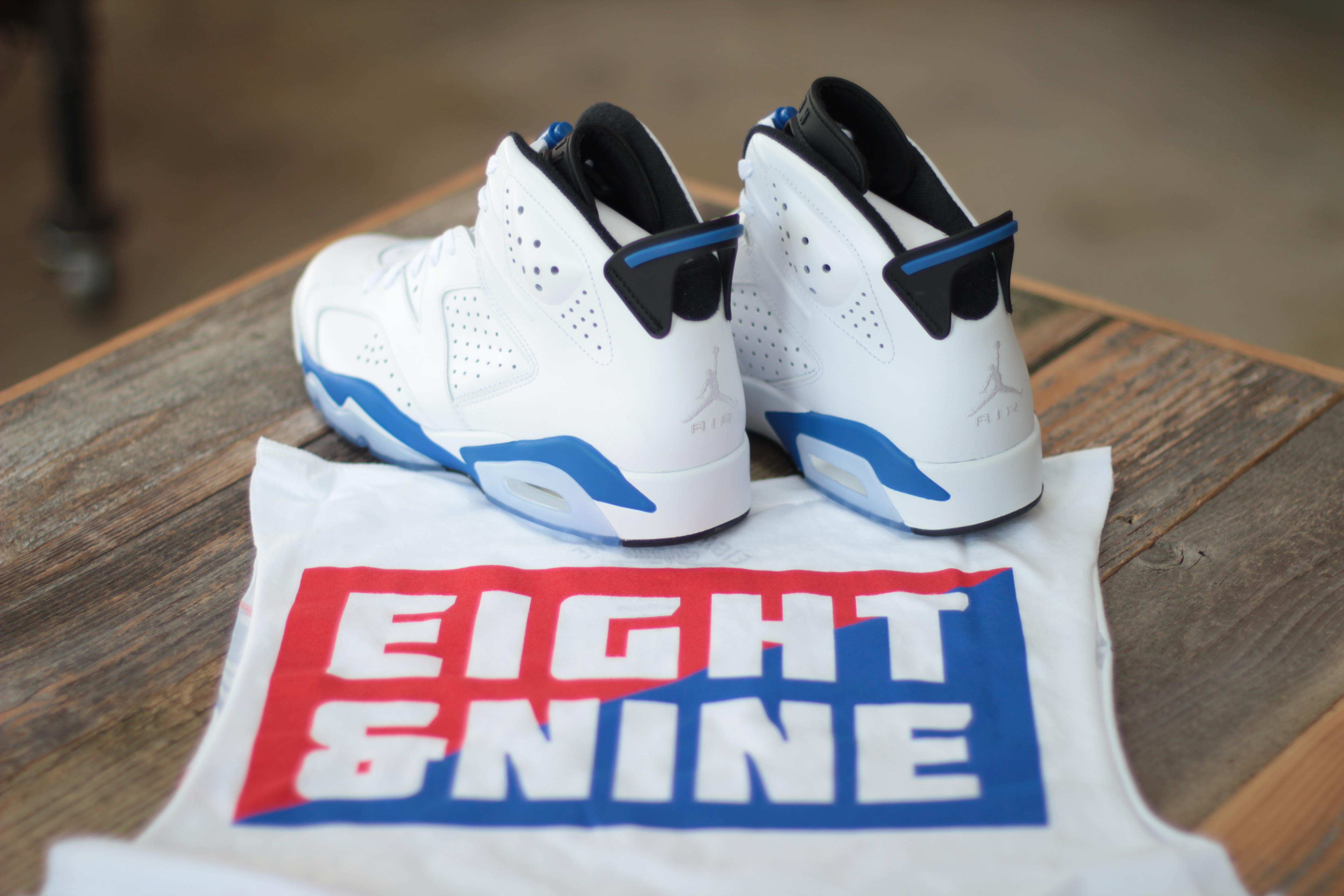 Sport Blue Jordan 6 4