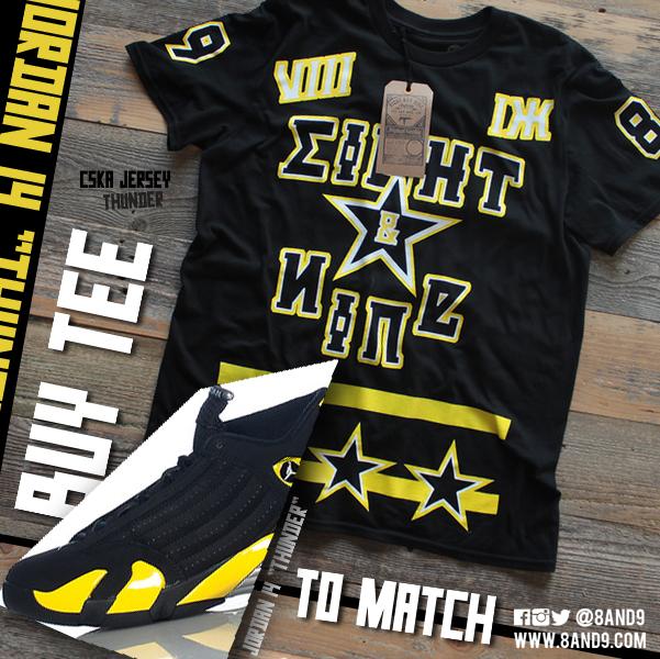 jordan thunder 14 shirt 2