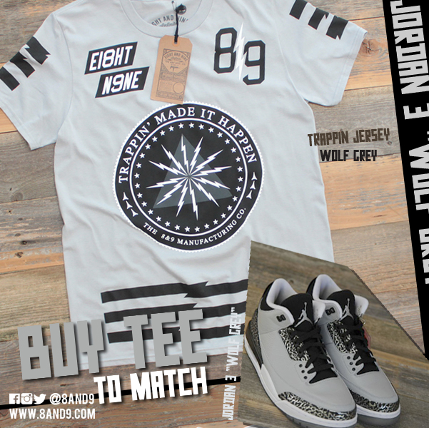 shirt to match jordan 3 wolf grey 2