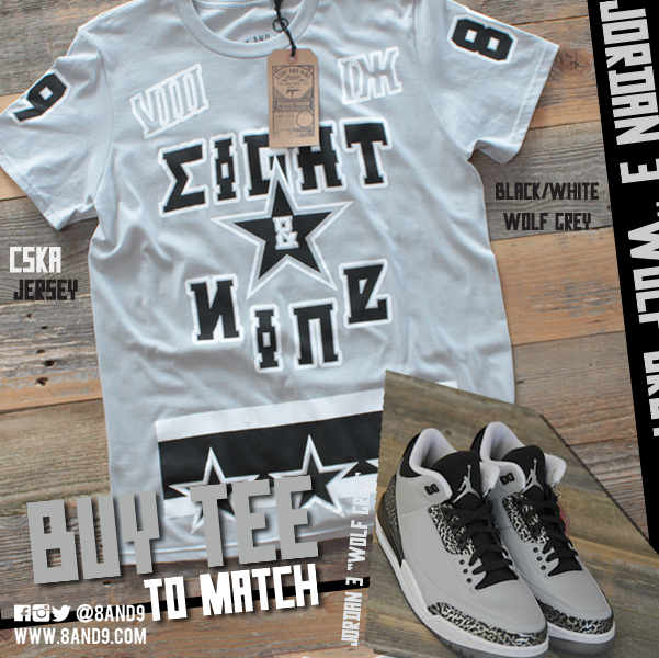 shirt to match jordan 3 wolf grey 3