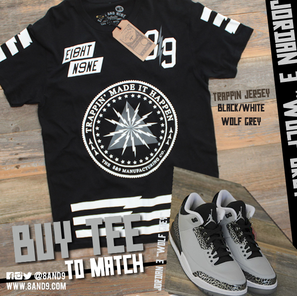 shirt to match jordan 3 wolf grey 4
