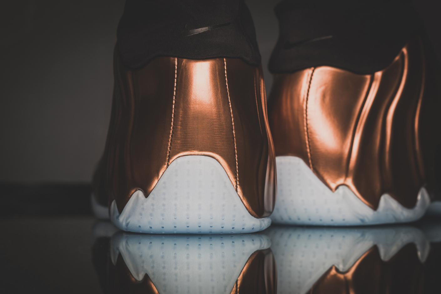 Copper Nike Flightposite 10