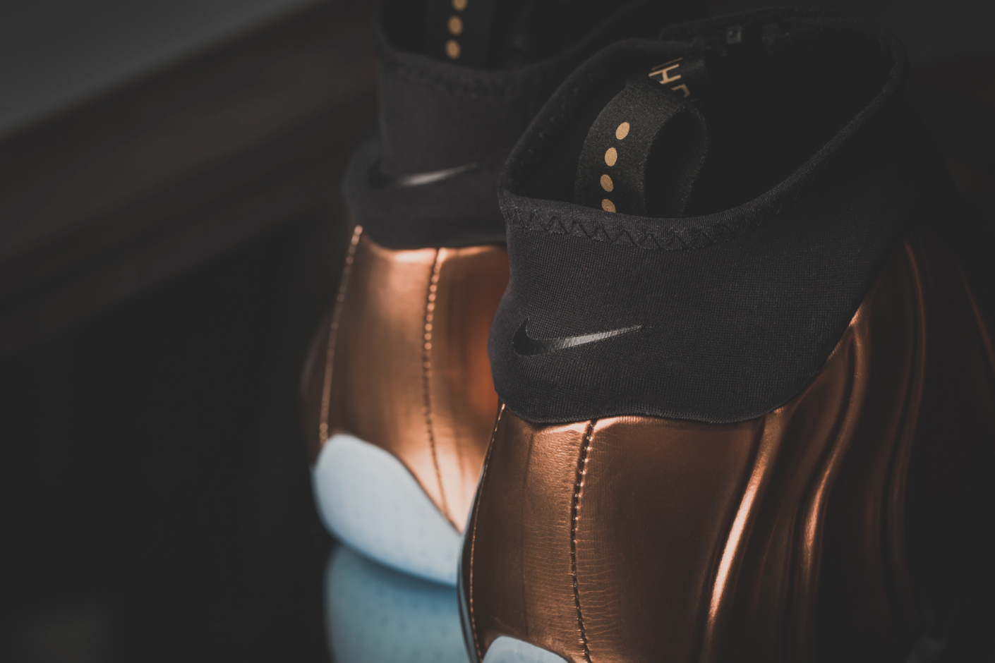 Copper Nike Flightposite 6